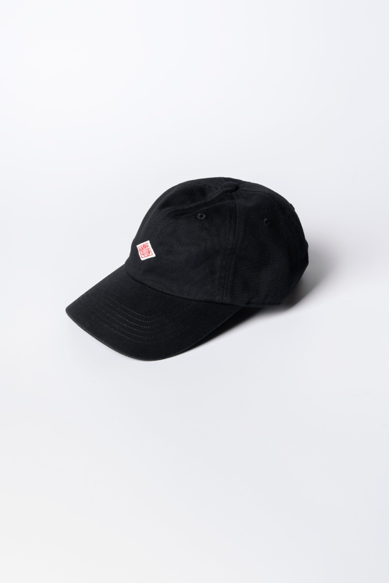 "DANTON 6 Panel Cap ""Black"""