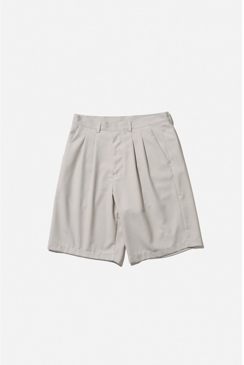 "Nocle Bermuda Mid Pants ""L.grey"""