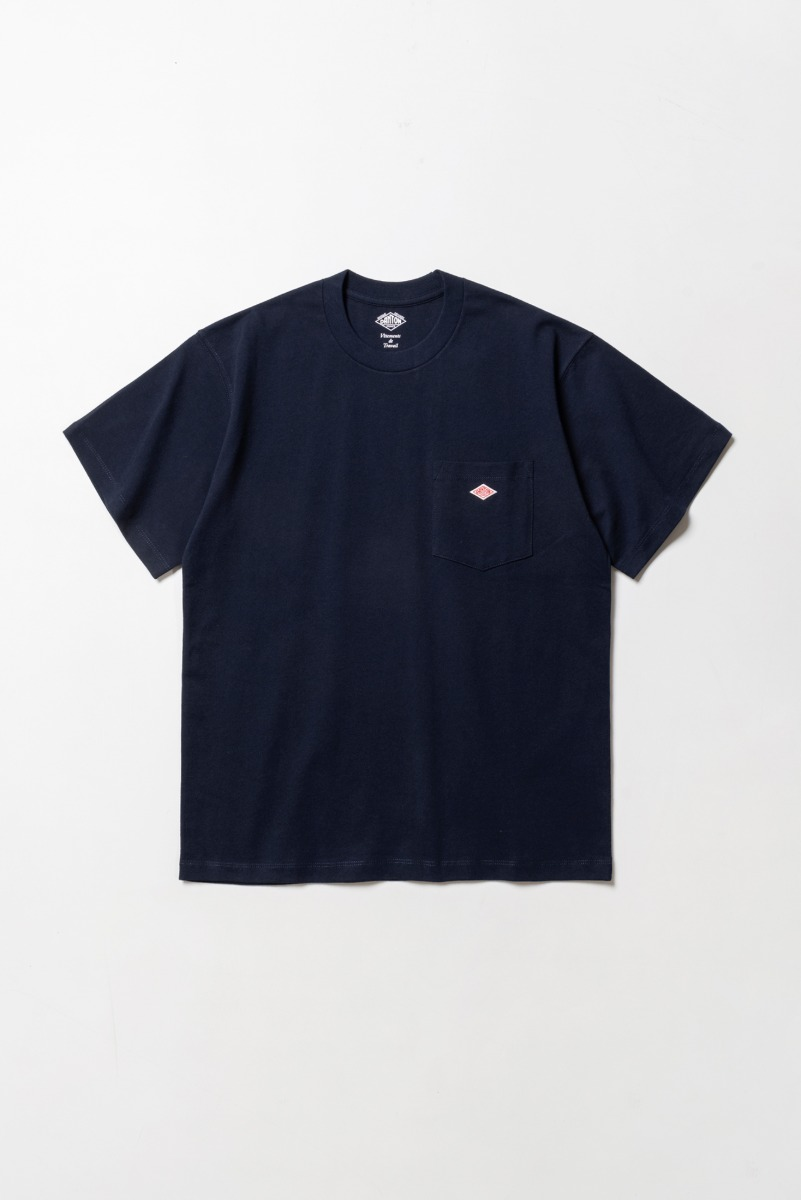 "DANTON Pocket T-Shirt S/S ""New Navy"""