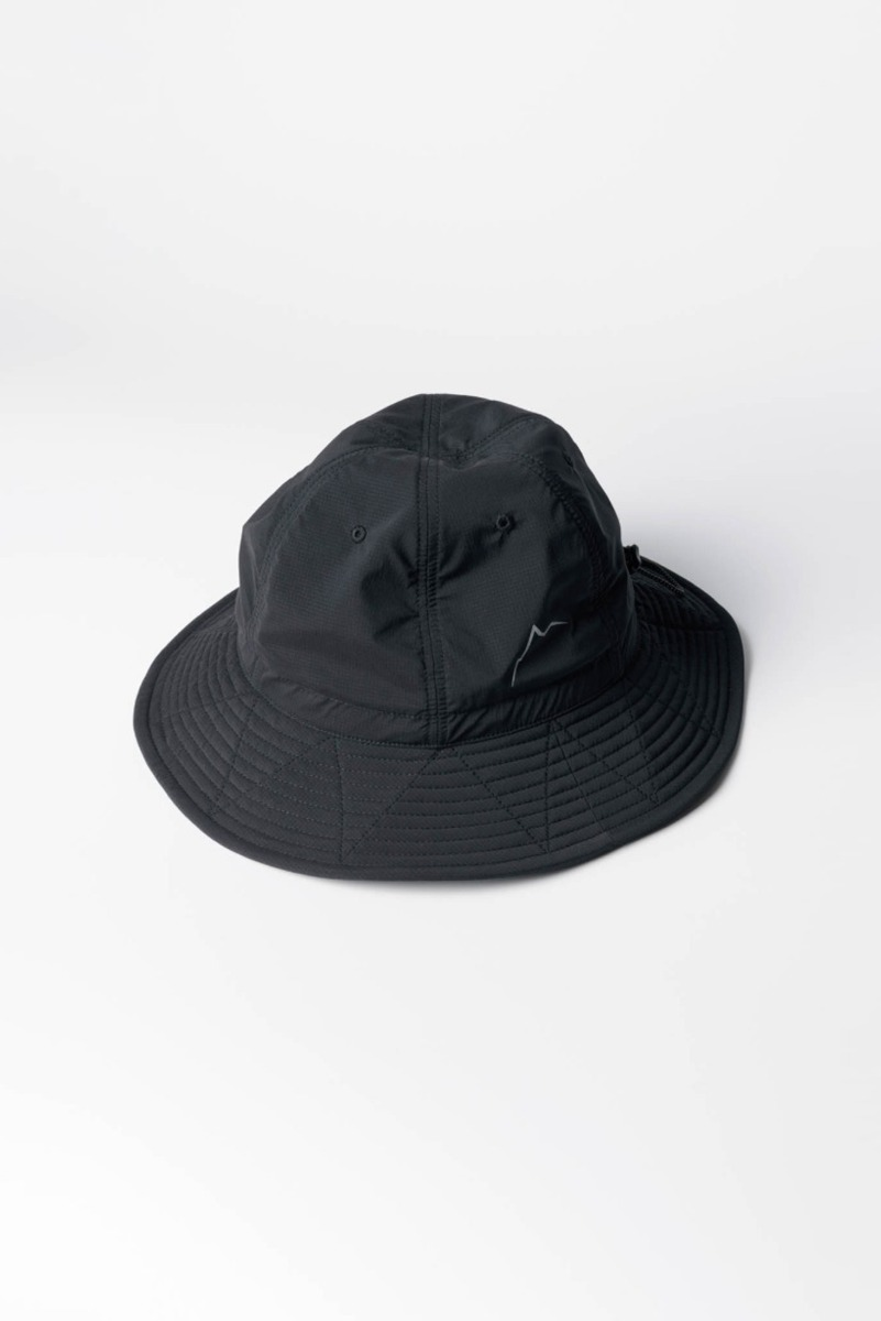 "CAYL Stretch Nylon Hiker Hat ""Black"""