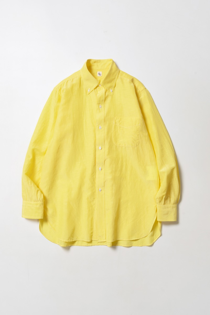 "KAPTAIN SUNSHINE Polocollar Shirt ""Sun Yellow"""