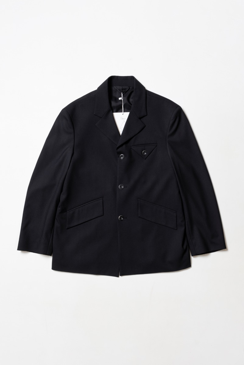 "OOPARTS Over-sized 3-Button Blazer ""Black"""