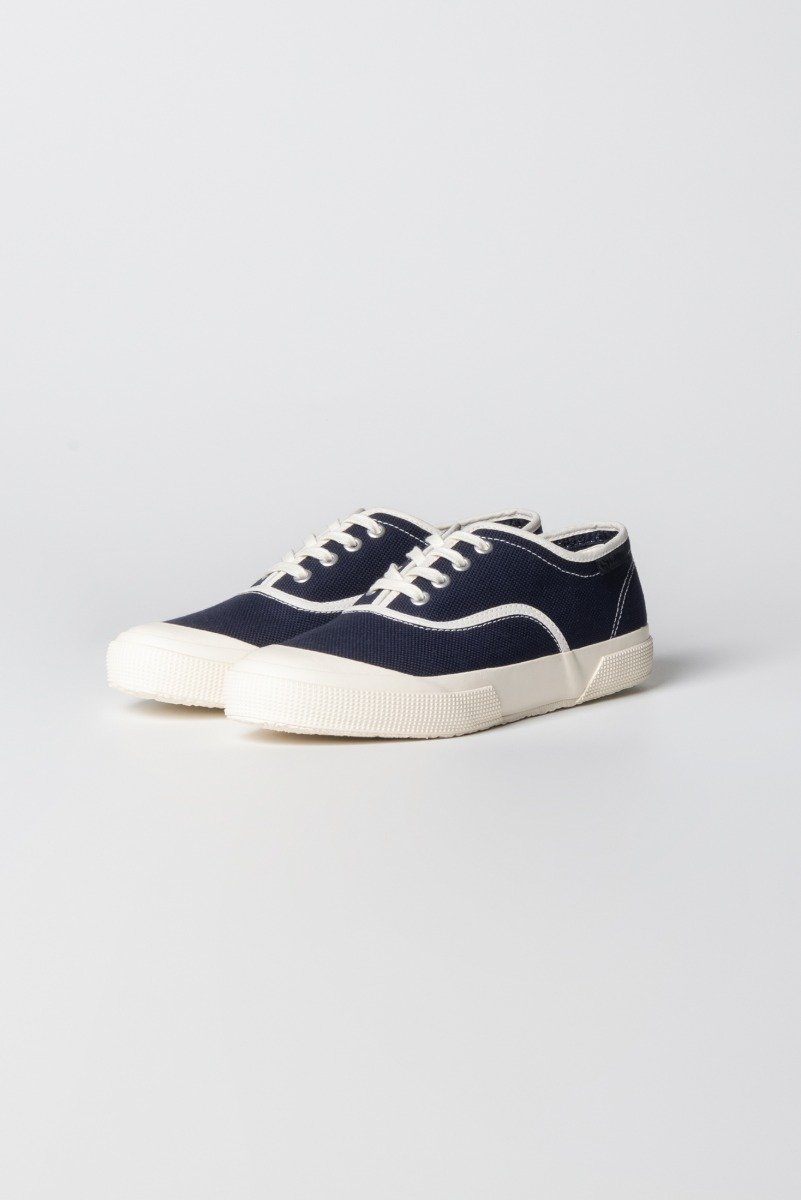 "KAPTAIN SUNSHINE X SUPERGA Trainer Low ""Navy"""