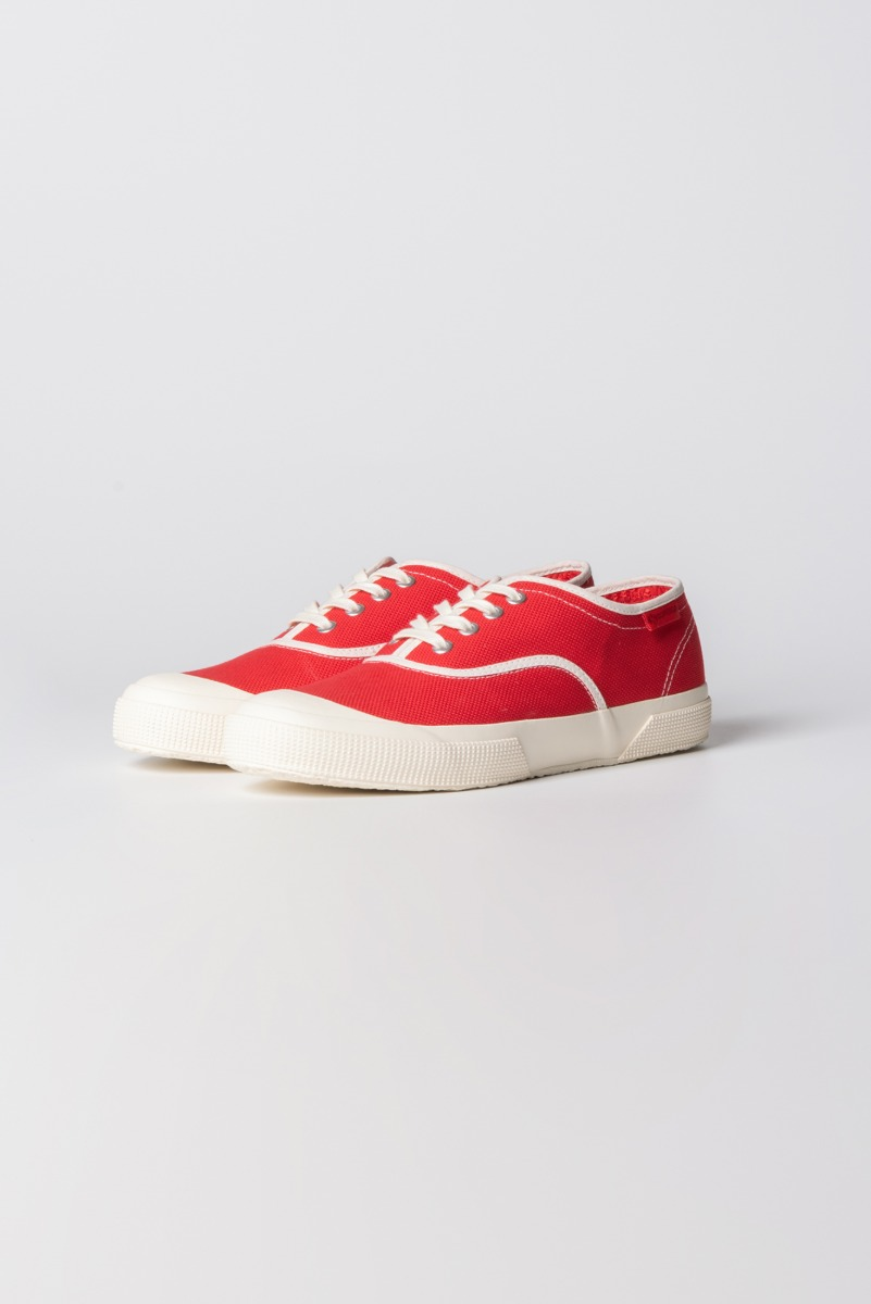 "KAPTAIN SUNSHINE X SUPERGA Trainer Low ""Red"""