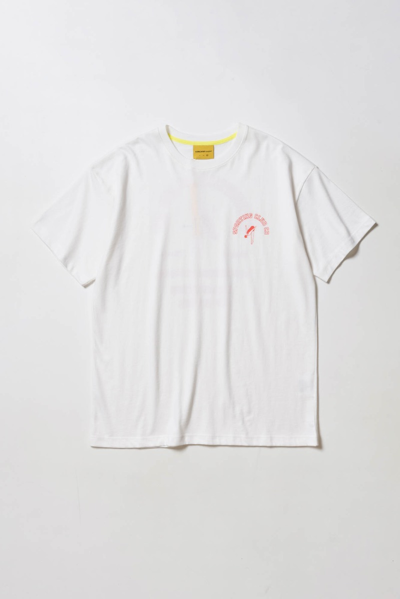 "CONICHIWA BONJOUR Diving T ""White"""