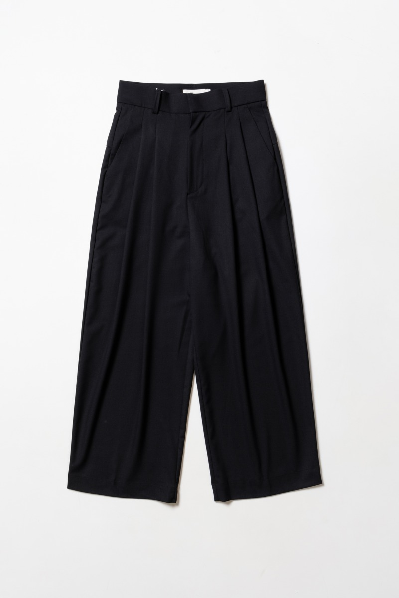 "OOPARTS Wide-leg Long Pants ""Black"""