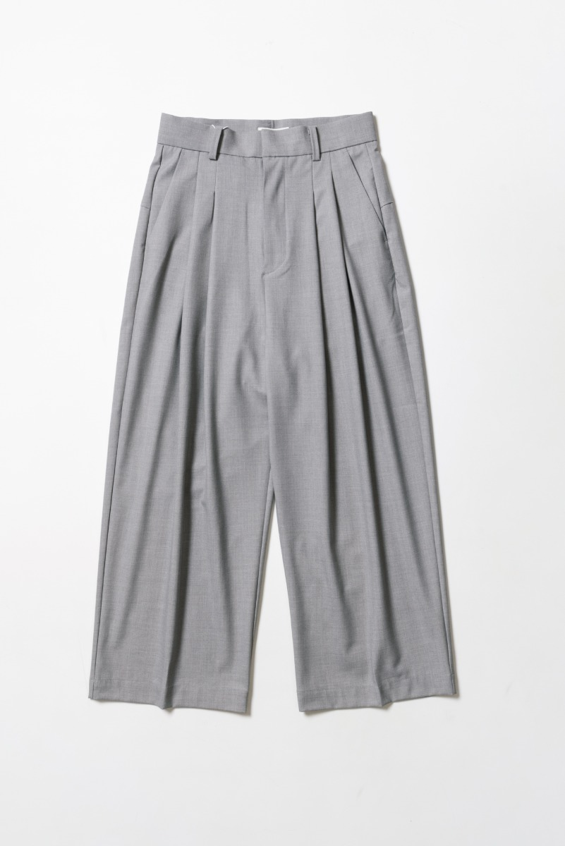 "OOPARTS Wide-leg Long Pants ""L.Grey"""