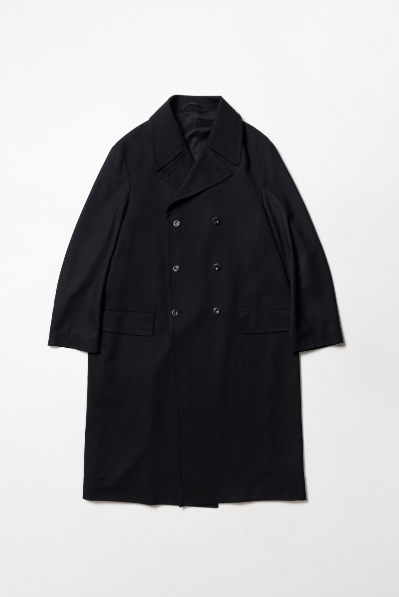 "OOPARTS Over-sized Double-Breasted Coat ""Black"""