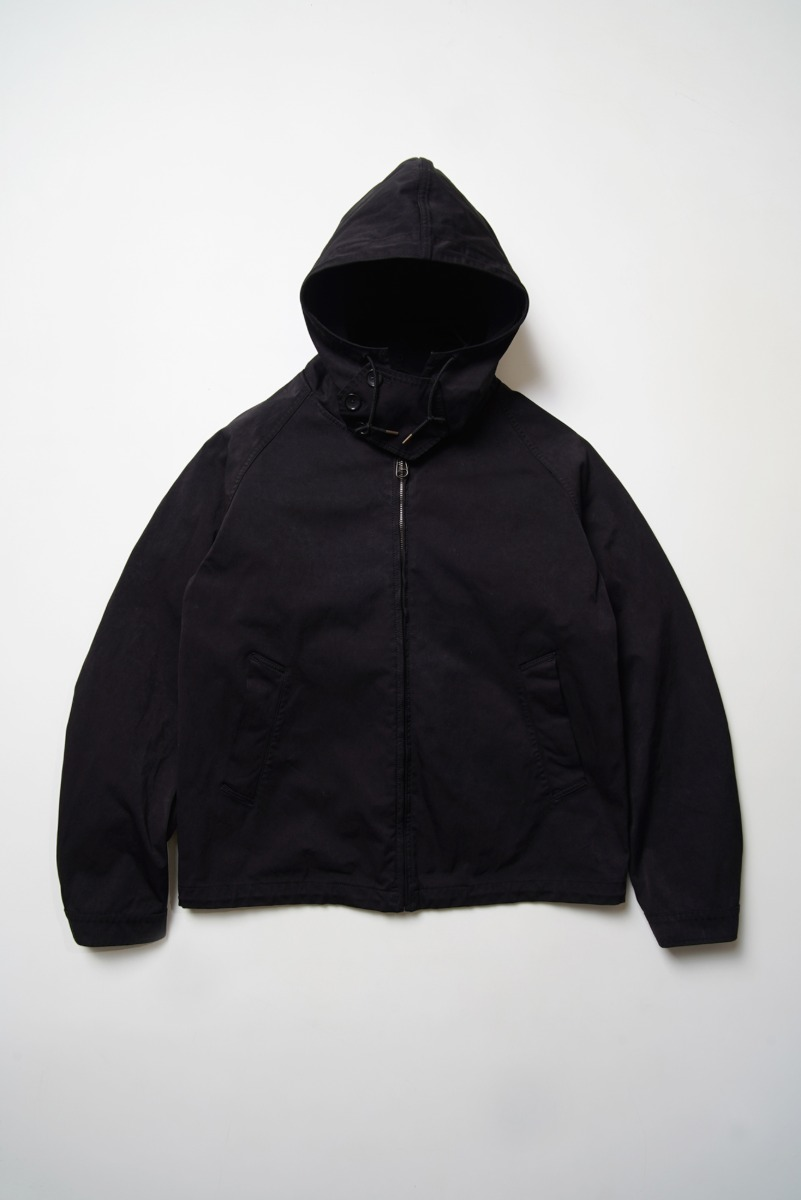 "TEN-C Anorak OJJ ""Black"""