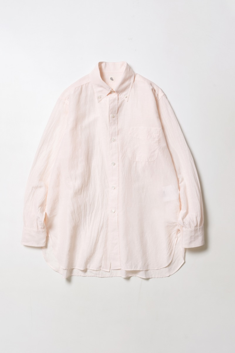 "KAPTAIN SUNSHINE Polocollar Shirt ""Light Pink"""
