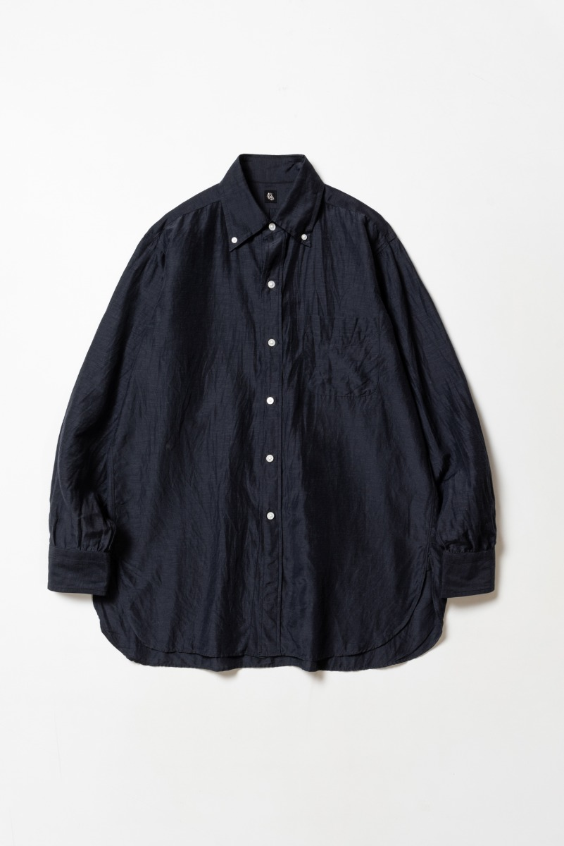 "KAPTAIN SUNSHINE Polocollar Shirt ""Navy"""