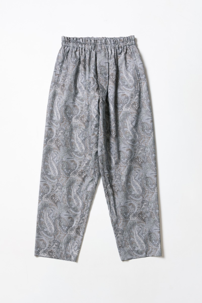 "KAPTAIN SUNSHINE Athletic Easy Pants ""Grey Paisley"""
