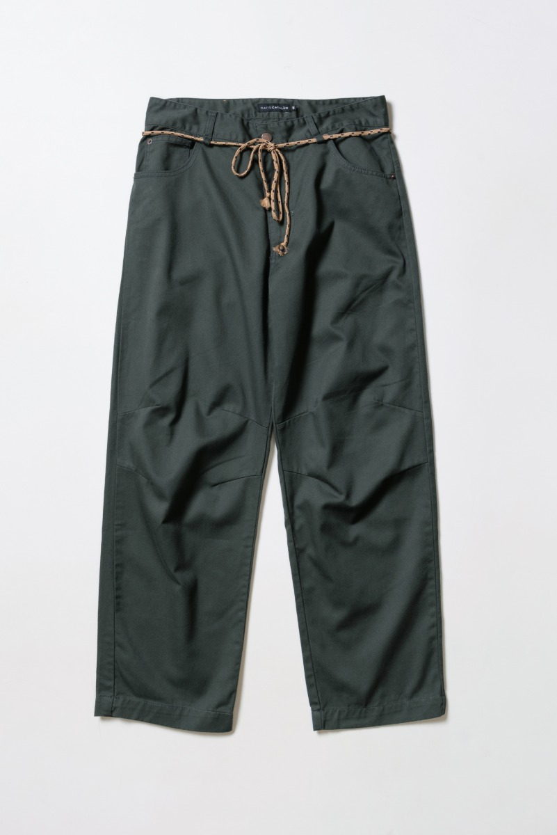 "DAVID CATALAN Workwear Jeans ""Green"""