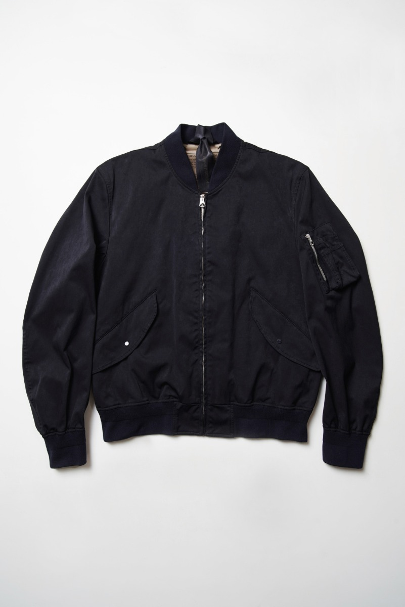 "TEN-C Flight Jacket OJJ ""Dark Navy"""
