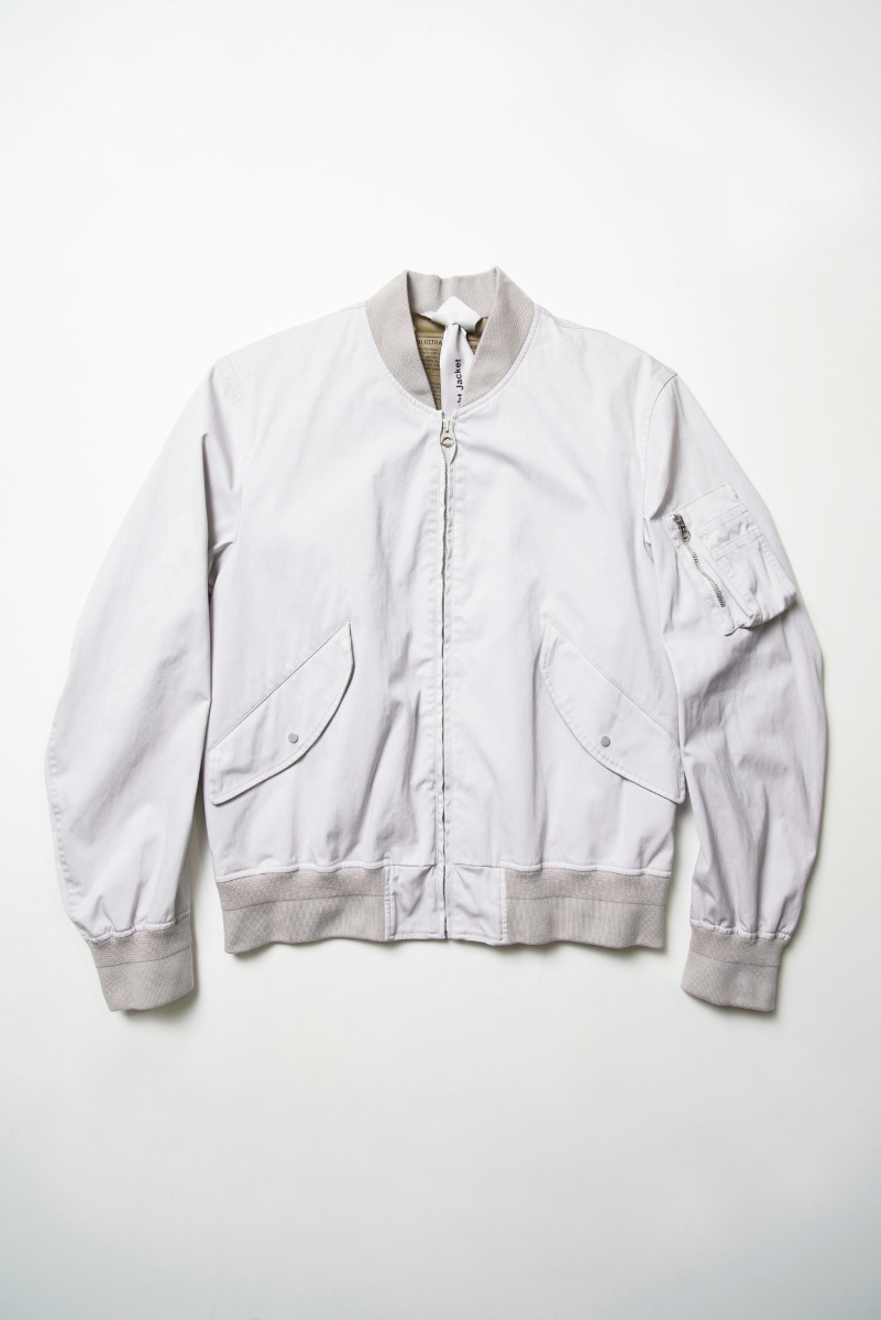 "TEN-C Flight Jacket OJJ ""Light Grey"""
