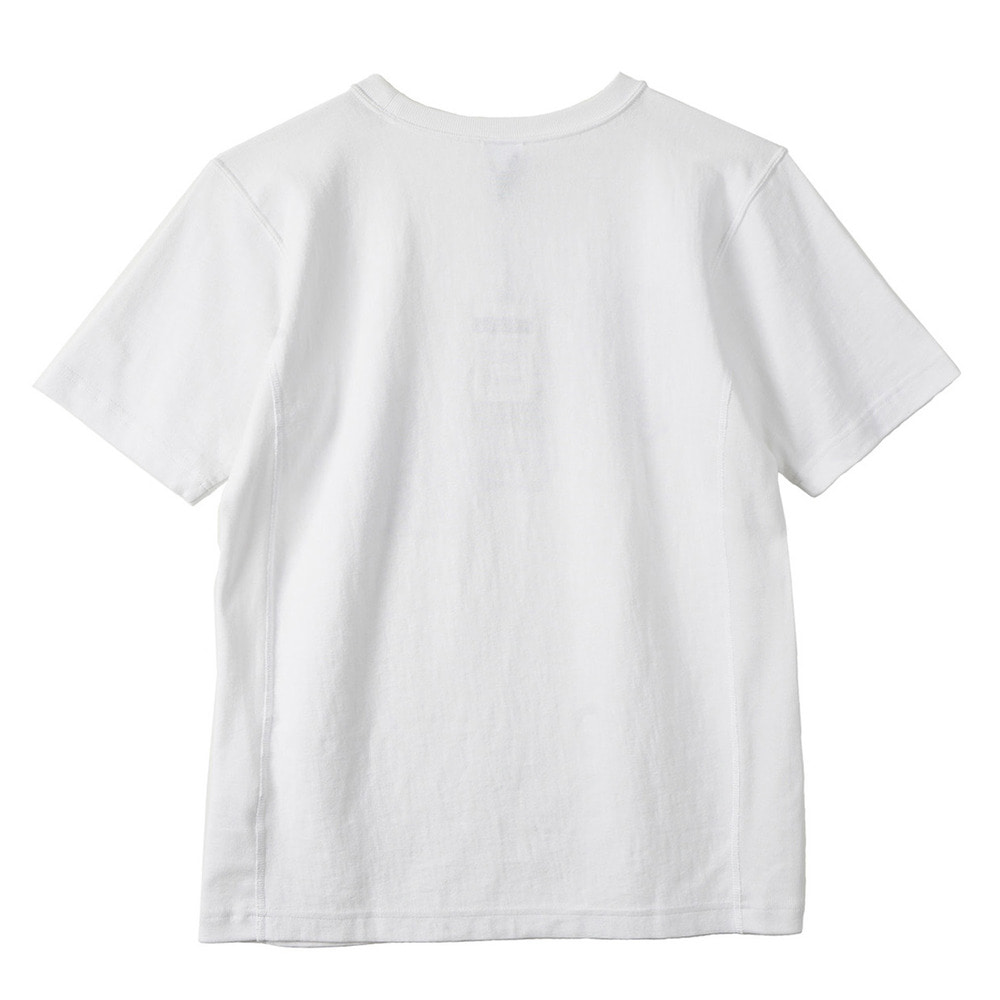 "CHAMPION Reverse Weave USA T-Shirts C3-F305 ""White (010)"""